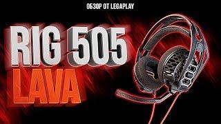 RIG 505 Lava | Plantronics - Обзор игровой гарнитруры ( Плантроникс 505 Лава)