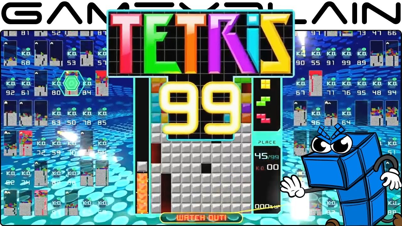 Tetris 99 Game Watch Nintendo Switch Youtube