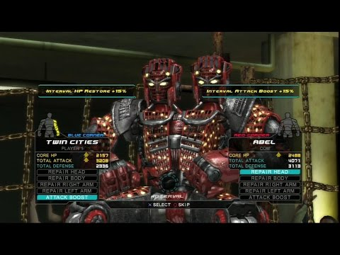игра Живая сталь драка роботов(Real steel-Twin Cities)Часть 8
