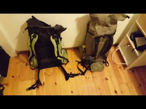 Couples Ultralight Backpacking, 9kg/20lbs Base Pack Weight Total for Two Packs