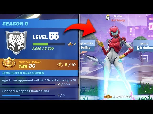 ▷ Fortnite: How to earn XP and get rewards fast - Tips for level up