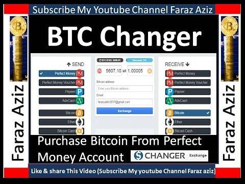 How To Purchase Bitcoin From Perfect Money Easy Step II Urdu II Hindi II