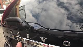 VOLVO XC60 XC70 XC90 - HOW TO OPEN TRUNK