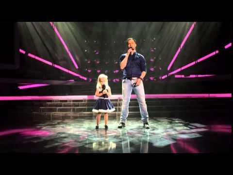 Виталий Гогунский с дочкой зеркала - YouTube