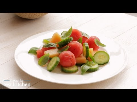 Refreshing Cucumber-Melon Salad - From the Test Kitchen