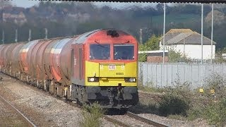 Severn Tunnel Junction (STJ) Freight 11-04-14
