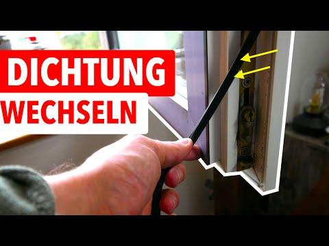 Fensterdichtung Wechseln   Fenster Zieht Und Ist Undicht