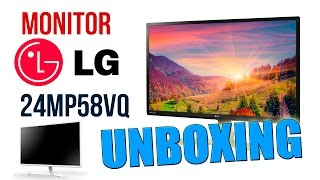 Monitor PC LG Full HD 24MP58VQ | Unboxing y review