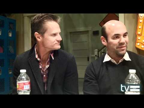 Cougar Town Season 3 Set Visit: Brian Van Holt and Ian Gomez