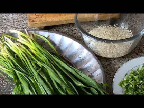 Суп оши сиёхалаф. Начало сезона весеннего блюда в Таджикистане