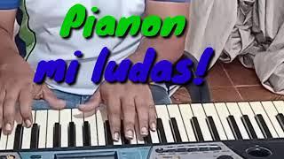 Pianon mi ludas (I'm playing Piano) #Esperanto #Venezuela #EsperantoLives #2021