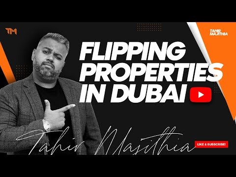 Can Investors FLIP Properties In Dubai for a Profit?|  Dubai Real Estate Podcast!