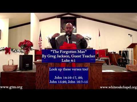 """""""The Forgotten Man"""" by Greg Jackson, Guest Teacher"""