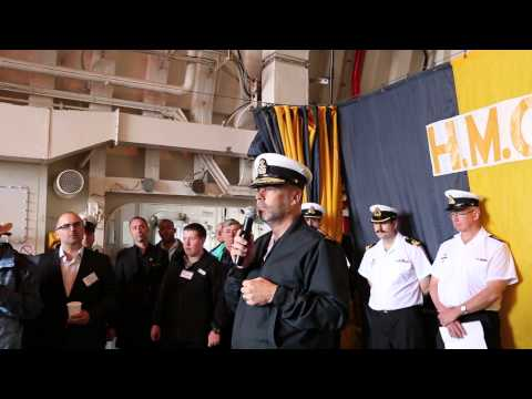 Canada is a Maritime Nation - Rear Admiral W.S. Truelove speaking on HMCS Winnipeg