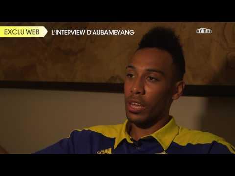 """Pierre-Emerick Aubameyang : """"Fier d'être Gabonais"""""""
