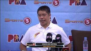 Presscon: San Miguel vs. TNT | PBA Philippine Cup 2016 - 2017