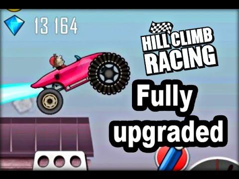 Hill Climb Racing Race Car Fully Upgraded