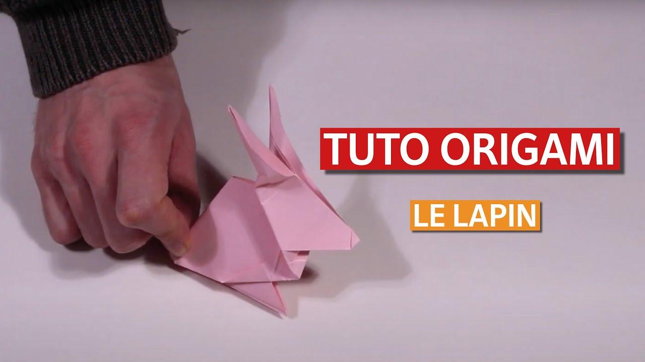 Tuto Realisez Un Lapin En Origami Youtube