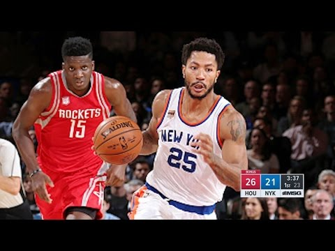 Houston Rockets vs New York Knicks - Full Game Highlights | November 2, 2016 | 2016-17 NBA Season