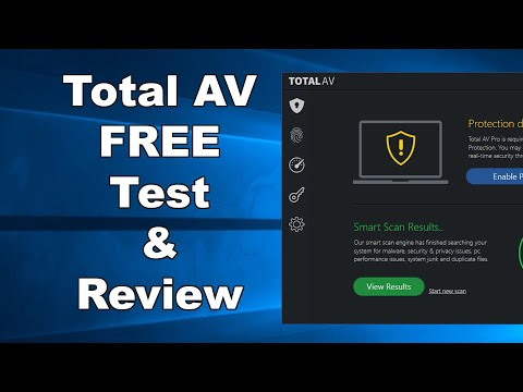 A Total Scam - Total AV FREE Antivirus Test & Review 2019 - Antivirus Security Review