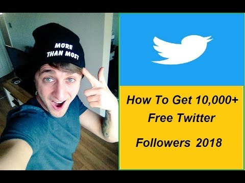 how to get 10000+ followers on twitter free in 5 mins!! 100% works 2018