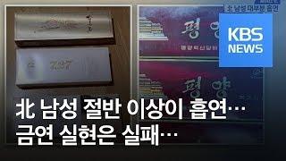 [페이스北] 흡연율 높은 북한…성과 못 내는 금연 운동…