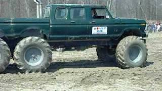 Bad as HELL! Ford 6x6 on Tractor Tires! I LOVE This Truck!