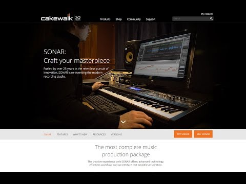 Cakewalk Sonar is No More
