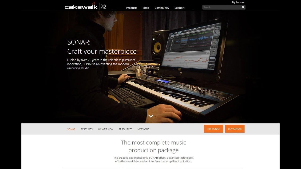 Cakewalk Sonar is No More