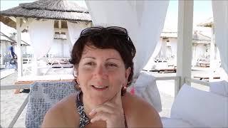 Городской пляж Адлера * Бунгало *  Вкусный обед за 400р в Винограде