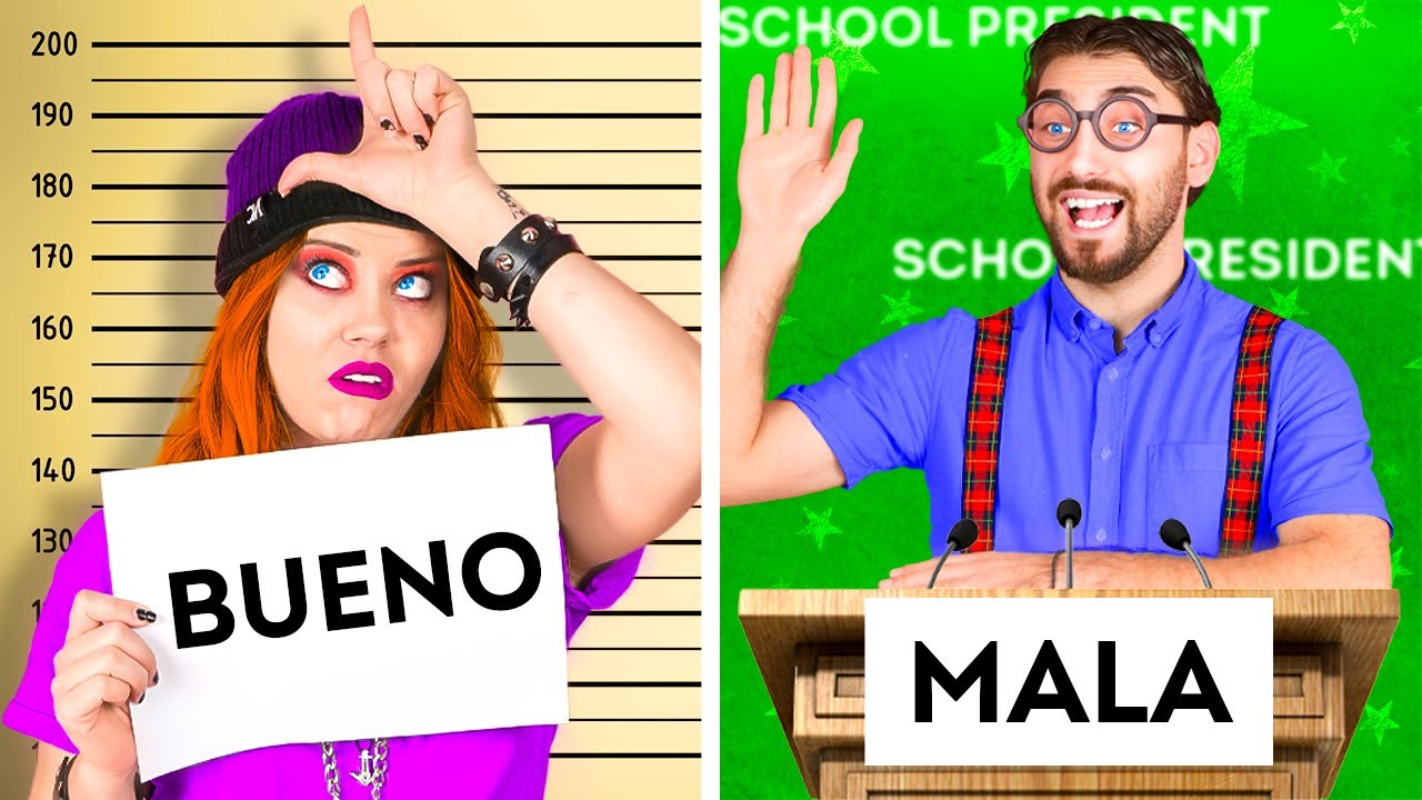 BUEN ALUMNO VS. MALA ALUMNA | Divertidas situaciones escolares típicas por La La Vida Musical