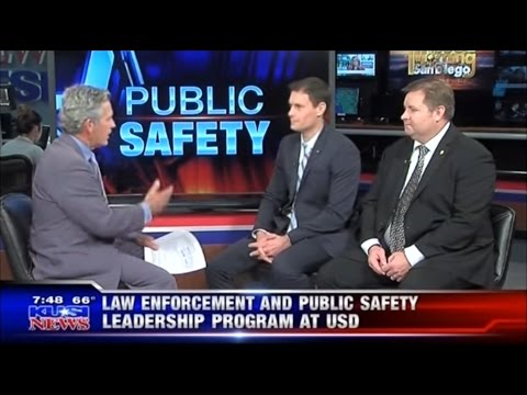 USD's Online Masters in Law Enforcement Leadership Featured on KUSI News!