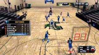 NBA 2K11 My Player - 1st Draft Combine Game!