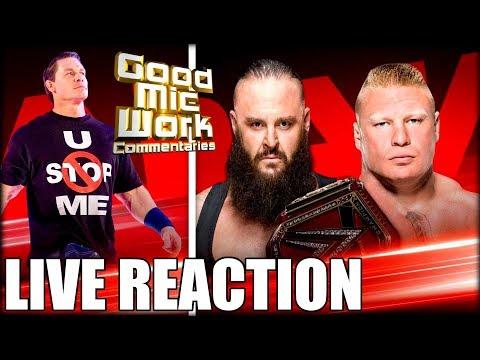 Wwe Raw January 7 2019 Live Reaction