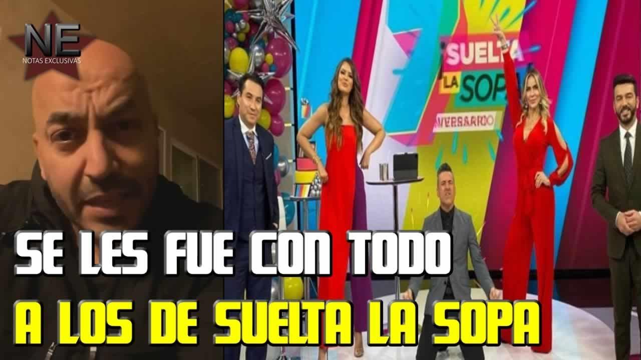 Lupillo Rivera responde a las BAB0SADAS de Suelta la Sopa