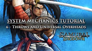 Samurai Shodown System Mechanics 6: Throws, Meaties, Universal Overheads (Surprise Attacks)