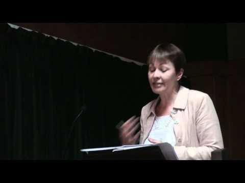 Caroline Lucas on gas shale fracking