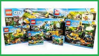 ALL LEGO City Jungle Explorers Sets Compilation