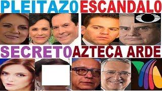 PATI CHAPOY SALINAS PLIEGO PEPILLO ORIGEL ALBERTO CIURANA FLOR RUBIO TELEVISA  TV AZTECA