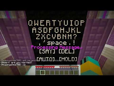 Minecraft Realms #1 - Albert the AI Chatbot!