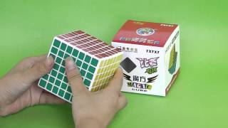 shengshou 7x7 7x7x7 7 5cm from eachbyte com speed cube white difficult magic puzzle review