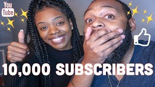 10,000 SUBSCRIBERS | VLOGMAS DAY 18