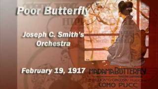 Joseph C. Smith Orchestra - Poor Butterfly (1917)