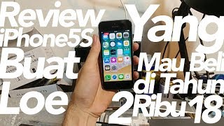 Review iPhone 5S it's still worth it?