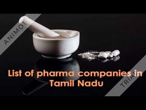 List Of Pharma Companies In Tamilnadu