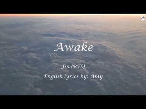 Awake - English KARAOKE (Instrumental) - Jin (BTS)