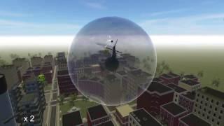 HeliRace Dev 06 Random Items (Mario Kart style)