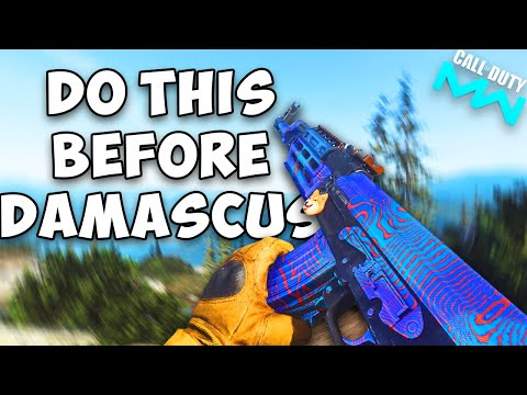 Do This Before Damascus...(DLC Guns, Weapon Order, XP and Tips) |  Modern Warfare Damascus Guide
