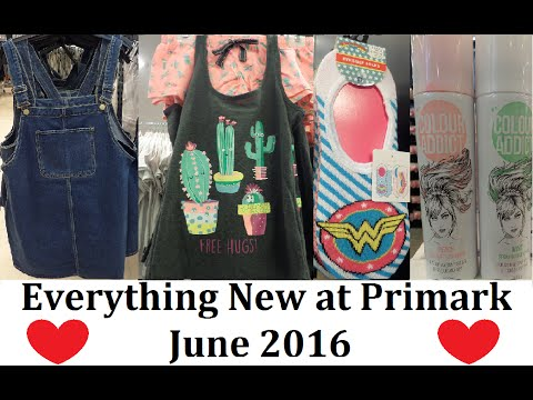 Everything New at Primark   June 2016   Biggest ever video 1250 new items! - IlovePrimark