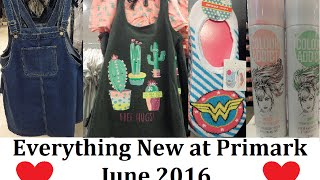 Everything New at Primark | June 2016 | Biggest ever video 1250 new items! - IlovePrimark